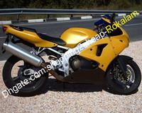 For Kawasaki NINJA ZX6R Motorcycle ZX636 ZX-636 ZX-6R ZX 6R 6 R 98 99 1998 1999 Moto Fairing Yellow Black