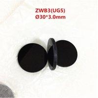 30x3.0mm 253.7 254nm 312nm 365nm Passo filtro UV di vetro ZWB3 UG5 U-330