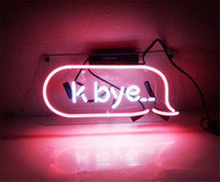 New Star Neon Sign Factory 12X6 pollici Real Glass Neon Sign Light per Beer Bar Pub Garage K Bye.