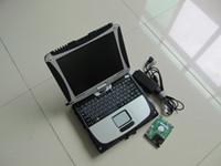 Strumento diagnostico Laptop CF-19 Touch Screen Computer con il software più nuovo per BMW ICOM A2 A2 Avanti MB Star C4 C5 HDD HDD
