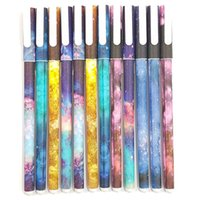 10 colored pencils in different colors, fineliner with a thi...