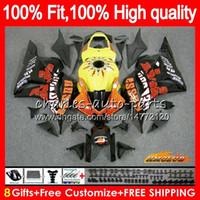 OEM Injection für HONDA CBR 600 RR Repsol schwarz CBR600RR 600F5 74HC.19 CBR600 RR CBR 600RR 600cc F5 2009 2010 2011 2012 09 10 11 12 Verkleidungs
