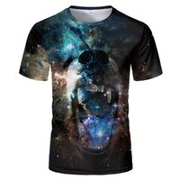 New Summer 3d T- shirt Animal Shirt nebula Lion Camiseta 3d T...