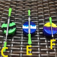 Воск dabber инструменты воск распылитель инструмент 3style C E F dab jar инструмент испаритель сухой травы с силиконовой коробке силиконовый чехол