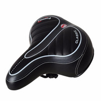 # H40 confortable Large Big Hot vente confortable Large Big Bum Bike vélo Gel Cruiser extra sportif Soft Pad Selle Convient