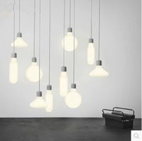 Pendant lights E27 Natural color Modern hanging lamp for hom...