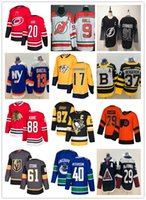 2019 Hockey Trikots Günstige Maple Leafs Blackhawks Golden Knig Canucks Bules Flammen Gaudreau Elias Pettersson Mark Stein Steven Stamkos Crosby