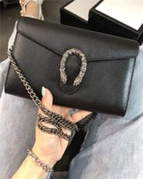Luxury Classic Genuine Leather Lady Messenger Bags Fashion M...