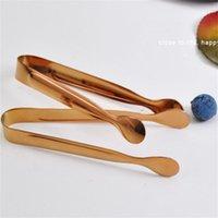 Edelstahl Rose Goldene Farbe Ice Clip Mit Rundkopf BBQ Food Clamp Für Haushalt Küche Werkzeug 5 5lp E1