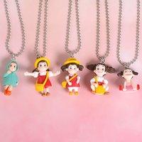 Японские аниме мультфильм ожерелье Kawaii Тоторо Подвеска ожерелье День рождения Рождественский подарок Choker для женщин Party Favor VT0523
