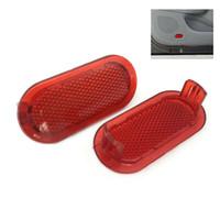 2x Rot Türverkleidung Warnlicht-Reflektor 6Q0947419 für VW Beetle Caddy Polo Touran