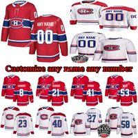 Bambini maschili personalizzati Womans Montreal Canadiens Jerseys 13 Max Domi 31 Carey Prezzo Gallagher Weber Personalizza qualsiasi nome qualsiasi numero di hockey jersey