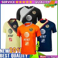 052c089b9 NEW Arrived TOP Quality 2018 LIGA MX Club America soccer Jerseys home away  Third Green Yellow 18 19 O.Peralta football shirts Camisetas