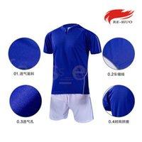 Top Kundenspezifische Fußballjerseys Freies Verschiffen-billig Großhandelsdiskont irgendein Name Jede Zahl anpassen Fußball Shirt Größe S-XXL 458