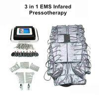 satılık Uzak Kızılötesi Pressotherapy zayıflama EMS Elektrik Kas Uyarım Sauna Hava Basıncı Lenf Drenaj Vücut makinesi