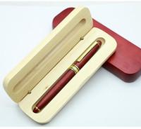 Caja de embalaje de madera de una sola pluma Caja de embalaje de la madera Marrywood 170 * 45 * 31mm 15pcs