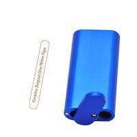 Tampão magnético magnético da liga de alumínio premium com bastão de cerâmico O um cigarro handmade do tabaco