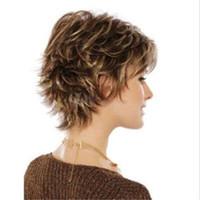 Parrucca bionda diritta sintetica diritta delle parrucche sintetiche  resistenti al calore di Kanekalon dei capelli del 3669f7746432