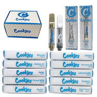 Cookies Carts Vape Cartridges 1ml Ceramic Coil Glass Thick O...