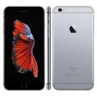 Original Recuperado de Apple iPhone 6S acrescida de 5,5 polegadas com impressão digital IOS A9 2GB de RAM 16/32/64 / 128GB ROM 12MP Desbloqueado 4G LTE 1pcs telefone