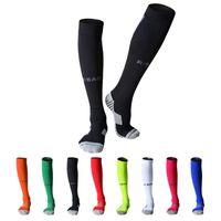 Unisex Yetişkin Gençlik İçin Pamuk Uzun Futbol Çorap Spor Takımı Sıkıştırma Çorap Diz Yüksek Futbol Çorap Havlu Alt