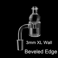 New 3mm XL Beveled Edge Quartz Banger And Removable Quartz i...
