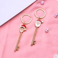크리스마스 선물 시리즈 키 버클 만화 금속 열쇠 고리 독창성 키 링 패션 뜨거운 판매 고품질 3 3qx J1