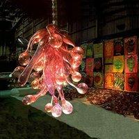 Бесплатная доставка Modern Art Design Murano Люстра Ресторан Декор выдувное стекло Мини Дешевые люстры Турецкий светодиодные