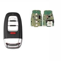 3 + 1Buttons Smart Remote Key Keyless Fob Für Audi A Q R S TT Quattro 2015-2016 Für IYZFBSB802 315Mhz