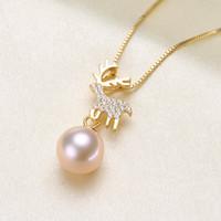 10pcs Drip oil Alloy pendant mushroom Pearl rabbit pendant Jewelry Accessorie