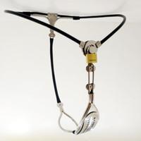Sous-vêtements féminins de sous-vêtements invisibles de dispositif de ceinture de chasteté d'acier inoxydable # R45