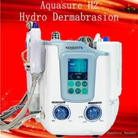 Aquasure H2 3 1 하이드로 미세 박피술 Hydrafacial 정밀 청소 BIO 미세 전류 수력 필링 페이셜 스킨 케어 기계에