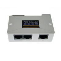 PoE Удлинитель 1 вход 2 РОЯ выхода Поддержка стандартного источник питания РОЯ 2MP / 3MP / 4MP / 5MP / 4K HD-камера для системы видеонаблюдения расстояния Long