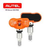 1 433315 MHz의 MX-센서 범용 자동 클램프에서 OE 수준 프로그래머블 센서 타이어 압력 모니터링 센서 2 AUTEL TPMS