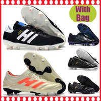 New Arrival. 2019 New Copa 70Y FG soccer Cleats Black White 70 Year  limited-edition Mens Soccer Boots Primeknit Copa Mundial Football Shoes  outdoor c203897c491