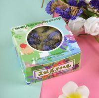 고품질 수제 비누 선물 수분 부드럽게 표현 얼굴 향기로운 목욕 화이트 비누 다채로운 식물 비누