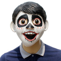 Cosplay New latex mask Coco Little boy devil headgear modeli...