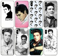 [TongTrade] The King Of iPhone capa para Rock Roll Elvis Presle 11 Pro X XS Max XR 8 7 6s 5 Plus Galaxy A80 A8S Huawei Y5 Sony Z3 Caso Xperia