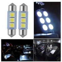 화이트 36mm 3 주도 5050 Smd 축 돔 자동차 빛 인테리어 램프 전구 12v 1000pcs