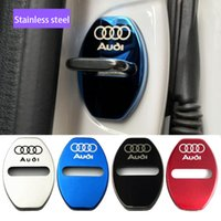 Hot sale stainless steel door lock cover Audi A4L A6L Q5 A3 ...