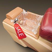 Effacer plastique jetables Massage Spa Liners Couvre pour Pédicure pieds Chaises Alimentation Nail Salon