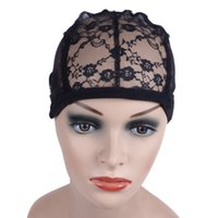 protezione della parrucca per fare parrucche con cinghia regolabile sul retro tessitura tappo formato glueless tappi parrucca 100 pc DHL libera