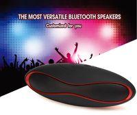 Drahtlose tragbare Bluetooth-Minilautsprecher für Laptoptelefone FM-Radio-Supportkarte TF-eingebautes Mikrofon AUX-Lautsprecherset