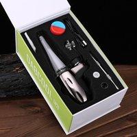 Dabcool W2 ENAIL Kit Eletrônico Hookah Cabeça Cera Cera Concentrado Shatter Budder Dab Rig Kit 4 Configurações de Calor vs SoP