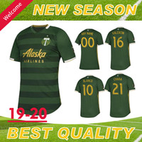 New Portland Timbers Home Green Soccer jersey 19 20 MLS Foot...
