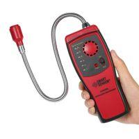 Detector de Gás Combustível portátil Gás Localização de Vazamento Determinar Medidor de Analisador de Sensor de Alarme Tester
