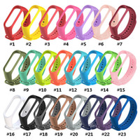 Silicone Strap for Xiaomi Mi Band 3 4 Replacement Watchband ...