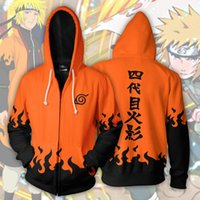 2019 Moda Unisex Kazak Hoodies Erkek Kadın Baskılı Anime Naruto Akatsuki Hoodie Cosplay Streetwear Eşofman Fermuar Hoody