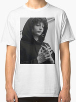 Finn Wolfhard Men' s T Shirt White Sleeves Boy Cotton Me...