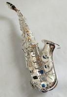 Yanagisawa S-901 collo ricurvo BbTune Nickel Argento Ottone Sassofono soprano strumento per gli studenti con regalo Caso